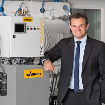 Neuer CEO Industrial Solutions bei J. Wagner GmbH